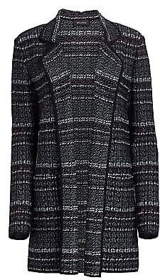 St. John Women's Textured Boucle Tweed Knit Jacket