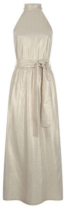 James Lakeland Metallic Halterneck Dress