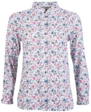 Barbour Yews Floral-Print Button-Down Shirt