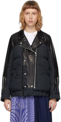 Undercover Black Sacai Edition Riders Jacket