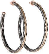 Moritz Glik Two-Tone Hoop Earrings