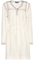 Isabel Marant Lindley Embroidered Silk Dress