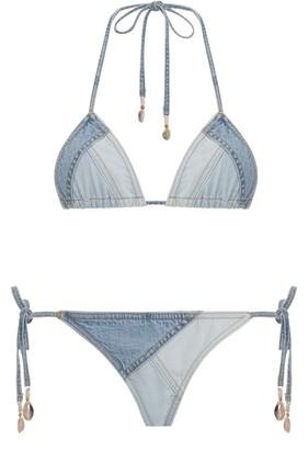 Zimmermann Edie Patchwork Bikini