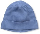 Portolano Men's Ribbed Knit Skull Cap, Capri Blue