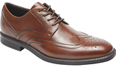 Rockport Madson Wingtip Shoes, Brown