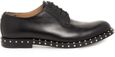 Valentino Micro Rockstud leather derby shoes