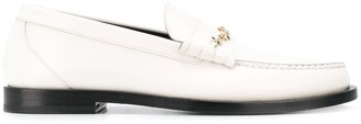 Jimmy Choo Mocca star chain loafers