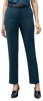 Lafayette 148 New York Clinton Pleated Ankle Pants