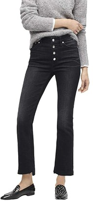 J.Crew 9 Demi-Boot Crop Jeans in Charcoal (Night Sky) Women's Casual Pants