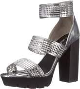 Qupid Women's Charli-10 Platform Sandal