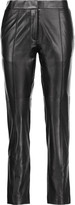 IRO Great leather skinny pants