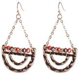 Jessica Women`s Hanging Half Circle Earrings
