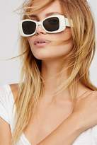 Free People Drive By Square Sunglasses