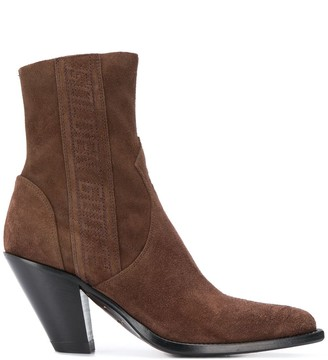 Golden Goose Low Scala ankle boots