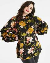 AX Paris Curve Floral Sleeve Tunic