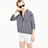 J.Crew Reversible pullover in double-faced cotton