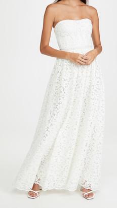 Jonathan Simkhai Strapless Gown