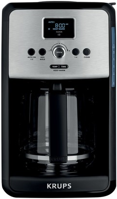Krups Savoy 12-Cup Programmable Stainless Steel Coffee Maker