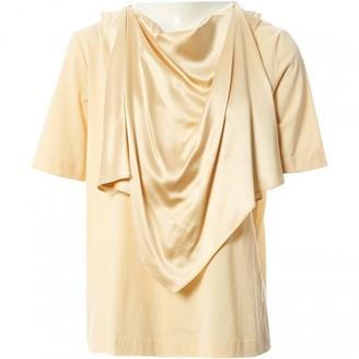 Joseph \N Yellow Cotton Tops
