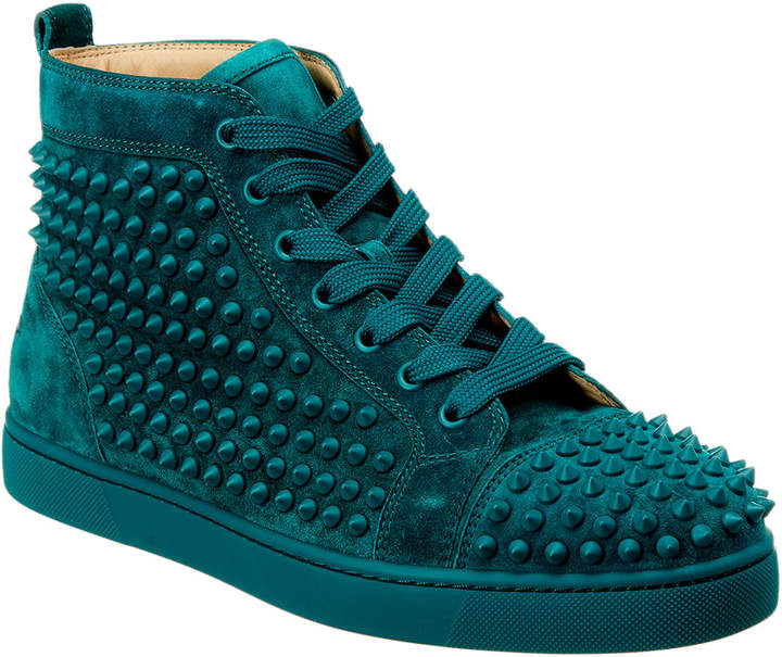 hot sale online d33ab 840d8 Louis Spikes Suede Sneaker