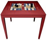 The Well Appointed House Oomph Square Backgammon Table-Available in 16 Different Colors