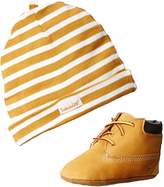 Timberland Crib With Hat Bootie (Infant/Toddler),Wheat, M US Toddler