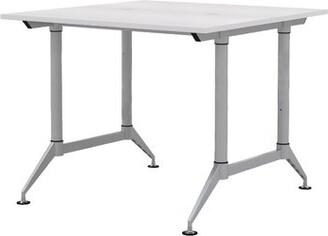 """Speidel Symple Stuff Reversible Standing Desk Symple Stuff Size: 42"""" H x 72"""" W x 60"""" D, Color: Designer White"""