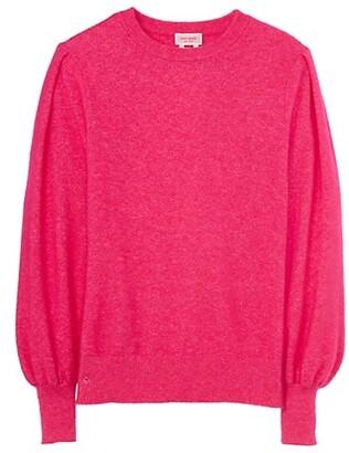 Dream Blouson-Sleeve Sweater