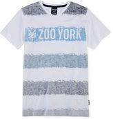 Zoo York Short-Sleeve Striped V-Neck Knit Tee - Boys 8-20