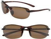 Maui Jim Women's Hanalei 64Mm Polarizedplus2 Rimless Sunglasses - Tortoise