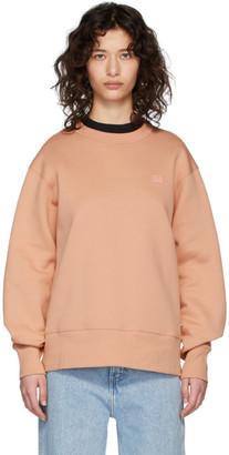 Acne Studios Pink Fairview Patch Sweatshirt