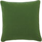 OKA Plain Velvet Cushion Cover, Square - Putting Green