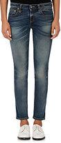 R 13 Women's Kate Skinny Crop Jeans-BLUE