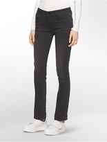 Calvin Klein Straight Leg Broke Black Jeans