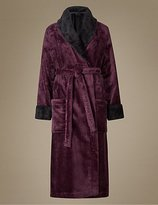 M&S Collection Shawl Collar Dressing Gown