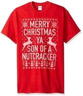 Freeze Men's Ugly Christmas Merry Christmas Ya Filthy Animal T-Shirt