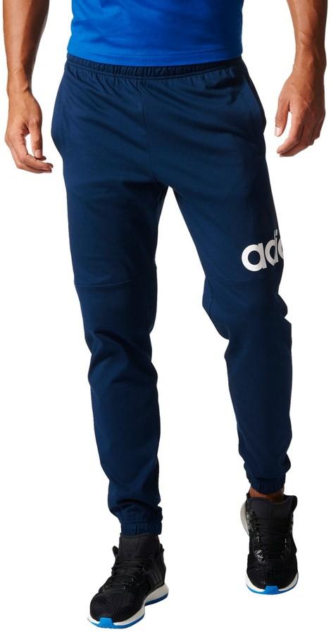 adidas Men's Essential Logo Jersey Pants - ShopStyle
