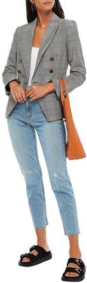 Rag & Bone Distressed High-rise Tapered Jeans