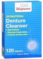Walgreens Antibacterial Denture Cleanser