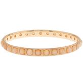 Irene Neuwirth Moonstone & rose-gold bangle
