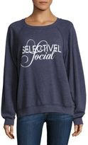 Wildfox Couture Selectively Social Sommers Sweatshirt