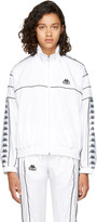 Kappa Ssense Exclusive White Oversized Windbreaker Track Jacket