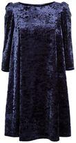 Claudie Pierlot Velvet Swing Dress