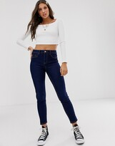 New Look classic skinny jean in ink blue