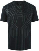Les Hommes jacquard T-shirt