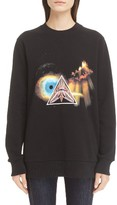 Givenchy Women's Apocalypse Print Cotton Sweatshirt