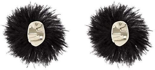 Proenza Schouler Women's Feather Earrings