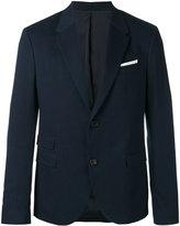 Neil Barrett denim blazer - men - Cotton/Polyester/Virgin Wool - 50