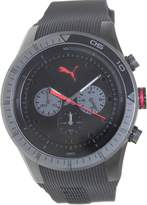 Puma Men's Fast Track PU102821003 Rubber Analog Quartz Watch with Dial