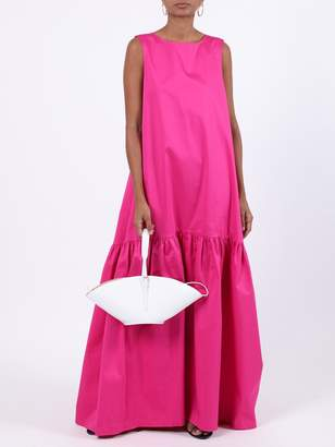 Pink Sleeveless Maxi Dress